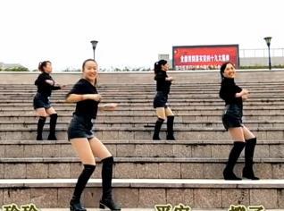 凤凰香香广场舞《拽》原创附分解-视频下载