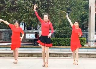 凤凰香香广场舞《挪威森林》原创附分解-视频下载
