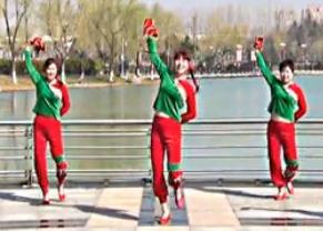 青兒廣場舞《東北姑娘 》原創廣場秧歌舞 手娟舞