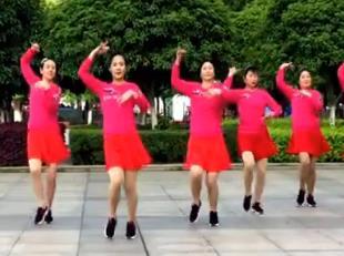 爱吾广场舞《待你披上婚纱》柔美欢快原创编舞附教学-视频下载