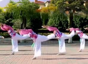 云裳廣場舞《九張機》沚水老師原創唯美古典舞-視頻下載