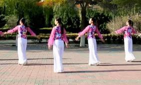 云裳廣場舞《九張機》沚水原創唯美古典舞附教學