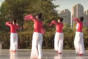 茉莉廣場舞《泛水荷塘》原創古典舞優美抒情附教學