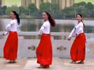春英广场舞【心中的牧歌】蒙族风格三步
