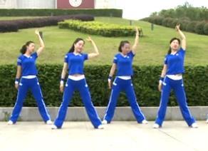 杨丽萍广场舞【第二套美体健身操第七节】拉伸形体舞