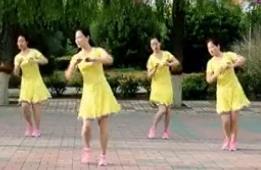云裳廣場舞《響亮的問侯》肖肖老師原創時尚健身舞