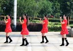春英广场舞【牵手情放手爱】恰恰风格广场舞