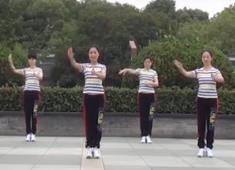 茉莉廣場舞《師說華夏》原創手語版廣場舞附教學