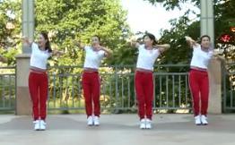 杨丽萍广场舞《边嗨边爱》瘦腰腹现代舞