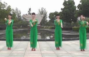 動動廣場舞《中國畫 中國美》入門中國風古風原創