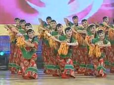 舞蹈喜洋洋 朝阳区亚运村街道飞扬舞蹈队演示 欢快喜庆的中老年广场舞