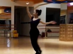 蒙族舞蹈柔拉臂 动作训练 原画版 舞曲琪琪格《乌兰巴托的夜》