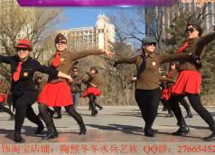 水兵舞第二套逛新城 冬冬水兵舞呼市满都海公园分部第二套表演《逛新城》