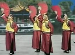 扇子舞孝庄姑娘 杨艺创意广场舞 舞曲孝庄秘史主题曲《你》