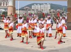 海南省白沙县老年人艺术团 花竹舞 民族舞 高清舞蹈视频