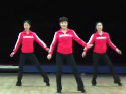 排舞闪闪惹人爱含分解 浙江省排舞协会原创排舞 4个方向 32拍