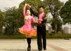 2016年中国三步踩腾飞(二)分解教学 含字幕动作名称 李永红/唐小青三步踩红马鞍