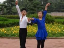 恰恰舞蹈 儿童舞蹈 中油四季广场舞