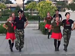 水兵舞格桑拉 介休国色天香舞蹈队