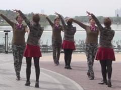 西安水兵舞串烧 西安水兵舞张玉龙广场舞