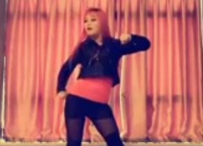 爵士舞《大艺术家》单色舞蹈教学视频下载 8