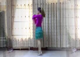 《我的情书》 巨鹿霓裳依依广场舞轻舞霓裳原创32步