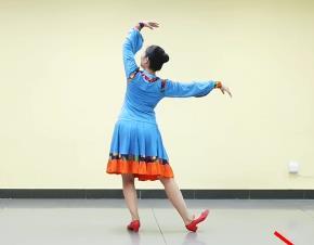 藏族舞 藏族姑娘