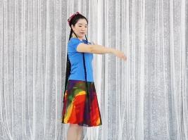 孔雪維族舞教學  《上身舞姿三》