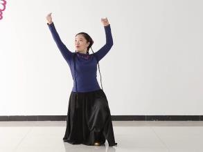 孔雪維族舞 《上身舞姿四》